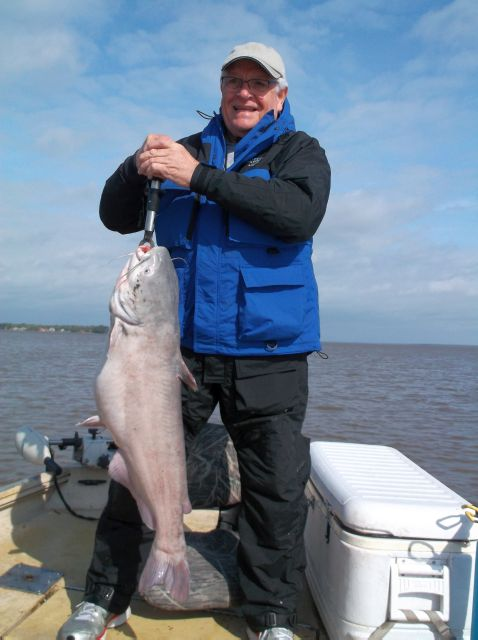 Karl strikes againon day two with a 28#blue cat